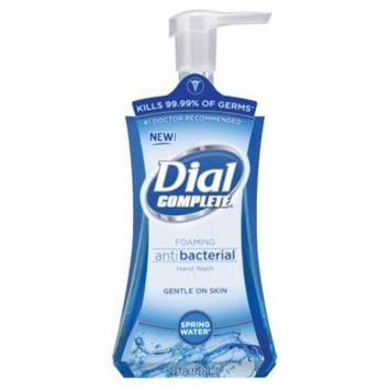 Dial 05400 7.5 Oz Spring Water Anti-Bacterial Foaming Hand Soap,No 5400