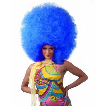Sepia Costume Hifro Synthetic Wig Dark Blue