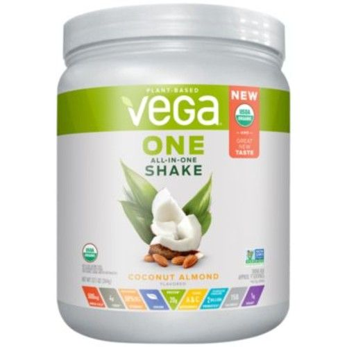 Vega One Organic All-In-One Shake - COCONUT ALMOND (12.1 Ounces Powder) by Vega at the Vitamin Shoppe