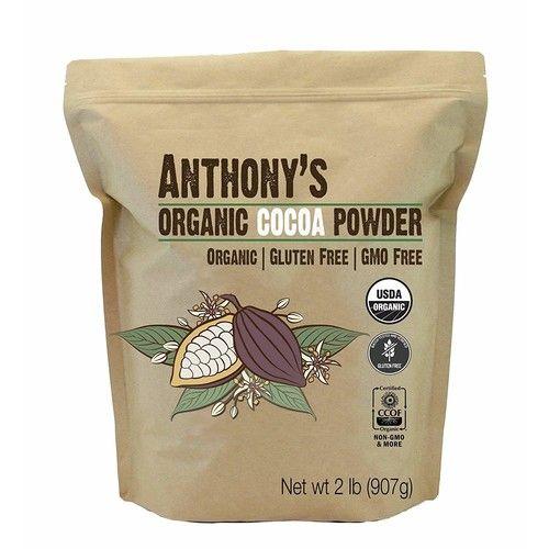 Anthony's Organic Raw Cocoa Powder/Cacao Powder, (Non-Alkalized)