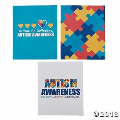 Autism Awareness Pocket Folders