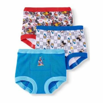 Mickey Mouse 3pk Training Pants (Toddler Boys)