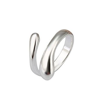 Doinshop New Nice Cute Lovely Fashion Chic Design Finger Opening Adjustable Womens Girls Ring Gift