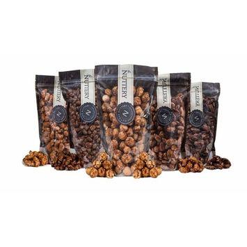 The Nuttery Freshly Roasted and Glazed Cashews - One (1) Lb Bag of Kosher Sweet Cashews Nuts