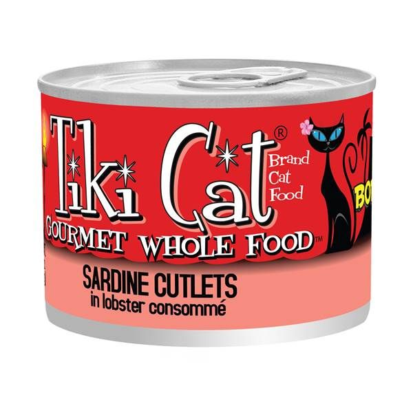 Tiki Cat Sardine Cutlets in Lobster Consomme Cat Food