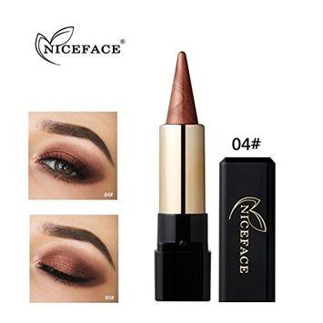 DMZing Best Pro Lipstick Eyeshadow Makeup - Waterproof Eyeliner Cream Eye Liner Pen Pencil Eye Shadow Gel Makeup (20 Color-D)
