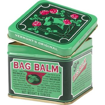 Vermont's Original 8oz Bag Balm Moisturizer Softener Ointment Salve For Chapped Conditions and Abrasions Horses and Livestock