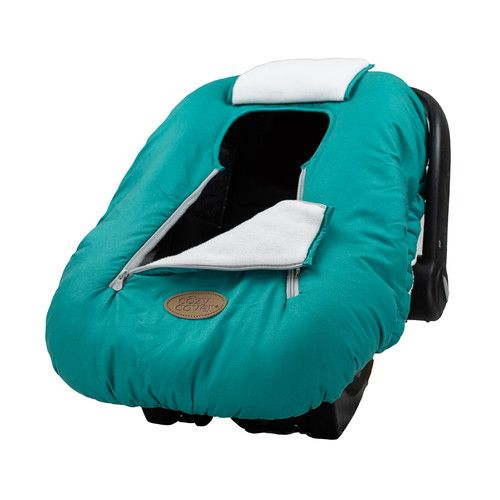 Cozy Cover Infant Carrier Cover, Teal [name: actual_color value: actual_color-teal]
