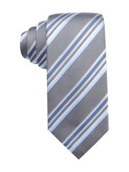 Vince Camuto Mens Livorno Striped Necktie 458 One Size