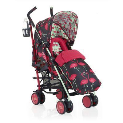 Infant Cosatto 'Supa - Flamingo Fling' Pushchair Stroller - Black