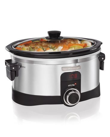 Hamilton Beach IntelliTime 6 Quart Slow Cooker