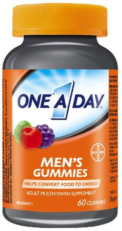 One A Day Adult Multivitamin Supplement Men's Gummies