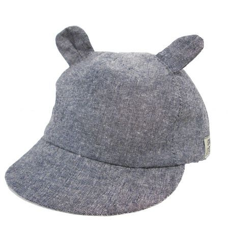 George Boys' Chambray Baseball Hat With Side Tab