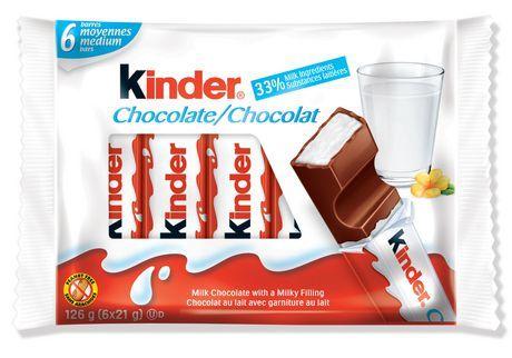 Ferrero Kinder Medium Milk Chocolate Bars