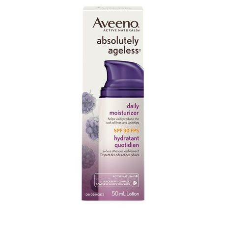 Aveeno Anti Aging Face Moisturizer SPF 30, Absolutely Ageless Daily Lotion