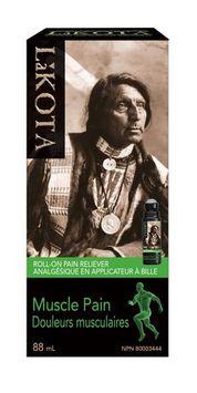 Lakota Muscle Pain Roll-on Pain Reliever Liquid