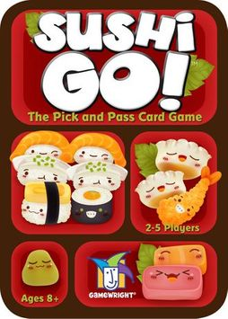 Kroeger Sushi Go! - The Pick And Pass Card Game