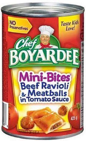 1979 Chef Boyardee Mini-ravioli And Mini-bites Ad