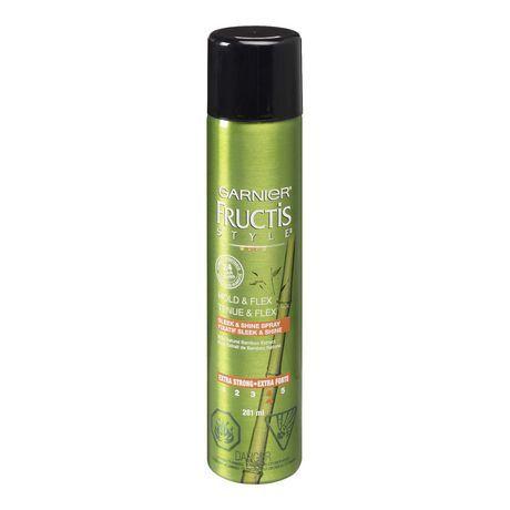 Garnier Fructis Style Hold And Flex Sleek And Shine Spray