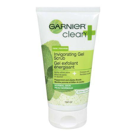 Garnier Clean + Invigorating Gel Scrub