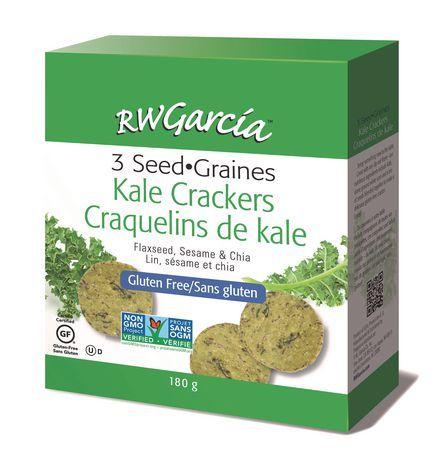 R.W. Garcia 3-Seed Gluten Free Kale Crackers
