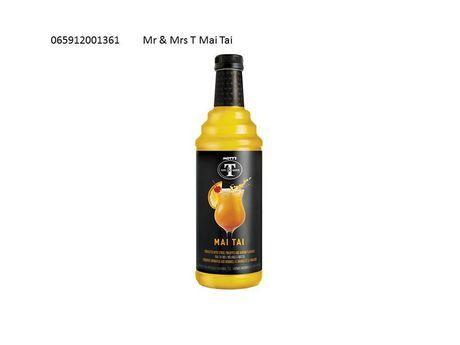 Mott's Mr & Mrs T Mai Tai Cocktail