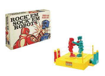 Retro Rock 'Em Sock 'Em Robots Game
