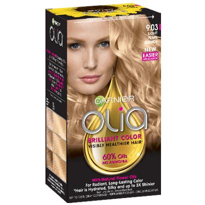 Garnier® Olia® Oil Powered Permanent Color, 9.03 Light Pearl Blonde 2-1 Kit Boxes