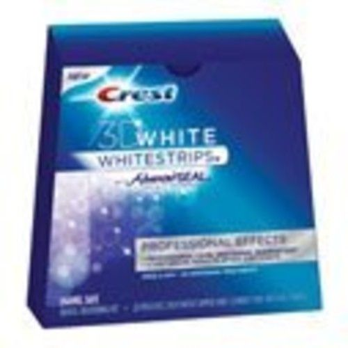 Crest 3D White Professional Effects Whitestrips Teeth Whitening Kit, 20 Treatments