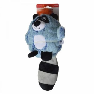 Kong Cruncheez Rascals Dog Toy - Raccoon Large - 1 Pack - Pack of 4