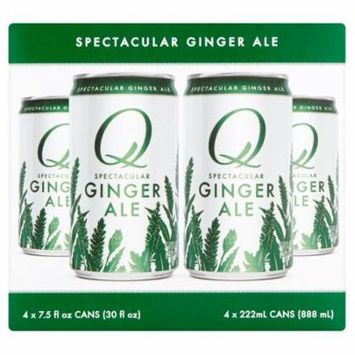 Q Tonic Ginger Ale 4Pk,30 Fo (Pack Of 6)