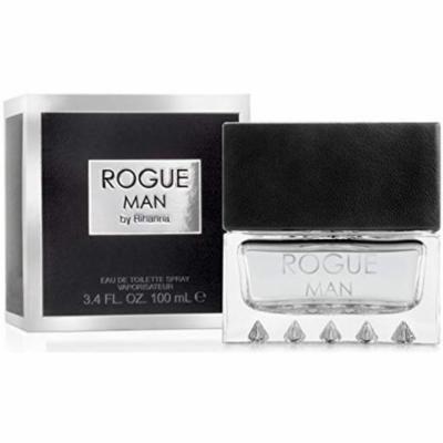 3 Pack - Rihanna Rogue Cologne, For Men 3.4 oz