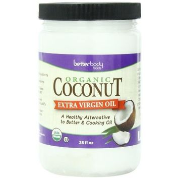 Betterbody Virgin Coconut Oil, 28 Ounce