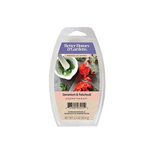 Better Homes & Gardens 2.5oz Geranium & Patchouli Essential Oil Blend Wax Melts