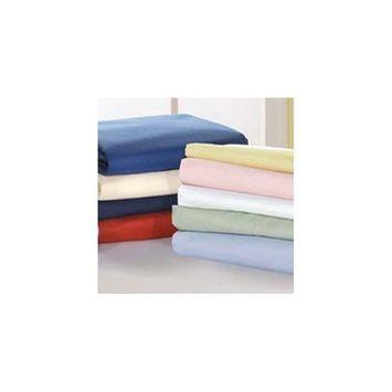 Baby Cradle Sheet Poly/Cotton - Color: Light Blue - Size: 18x36