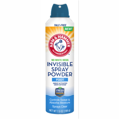 Arm & Hammer Invisible Spray Foot Powder