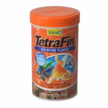 Tetra TetraFin Goldfish Flakes 2.2 oz - Pack of 12