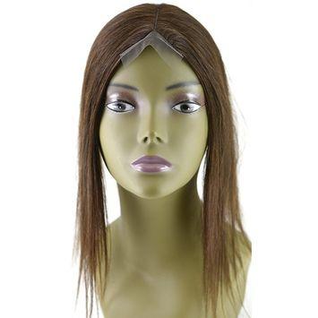 Invisible Lace Closure Natural Brazillian Virgin Remy 100% 12'' Human Hair Color: 1