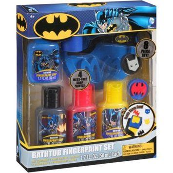Generic Batman Bathtub Fingerpaint Gift Set, 8 pc