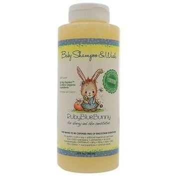 Ruby Blue Bunny Spring Garden Shampoo & Wash 12 Oz