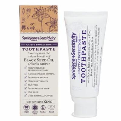 SprinJene Natural® Adult Sensitivity Cavity Protection Toothpaste