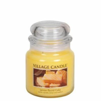 Village Candle 106016388 Lemon Pound Cake 16 oz Jar