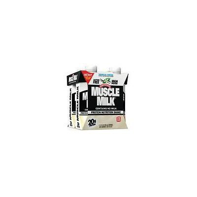 CytoSport Muscle Milk Protein Nutrition Shake Vanilla Creme11.0 oz. x 4 pack(pack of 2)