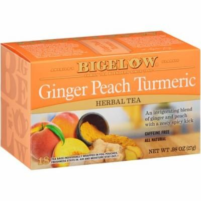 Bigelow, Ginger Peach with Turmeric, 18 ct