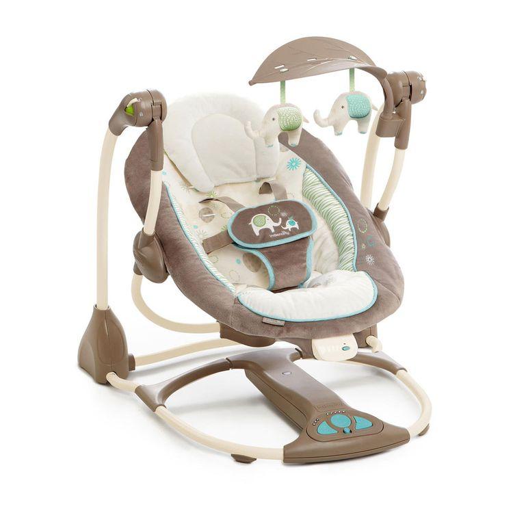 Ingenuity ConvertMe Swing-2-Seat Portable Swing - Sahara Burst