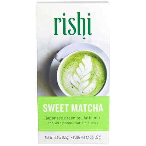 Rishi Tea, Japanese Green Tea Latte Mix, Sweet Matcha, 4.4 oz (pack of 6)