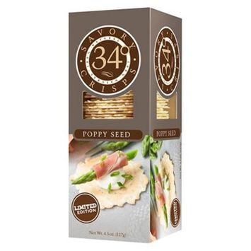 34 Degrees Pepper Multiseed Crackers 4.5 oz