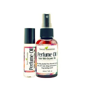 Caribbean Escape Type - Fragrance / Perfume Oil - Made with Organic Oils - Spray on Perfume Oil - Alcohol & Preservative Free