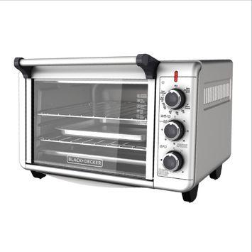 Black & Decker 6-Slice Convection Countertop Toaster Oven, Silver
