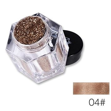 CYCTECH Cold Smoked Metals Color Glitter Shimmer Pearl Loose Eyeshadow Pigments Mineral Eye Shadow Dust Powder Waterproof Makeup Party Cosmetic Set